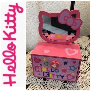 Hello Kitty Jewelry Box/Mirror
